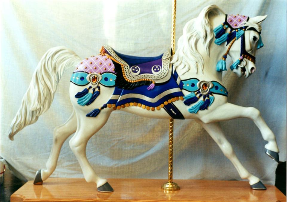 2000 Raffle Horse | Merry Go Round Museum in Sandusky, OH ...