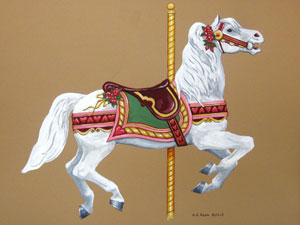 2013 Raffle Horse | Merry Go Round Museum in Sandusky, OH ...