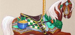 2015 Raffle Horse